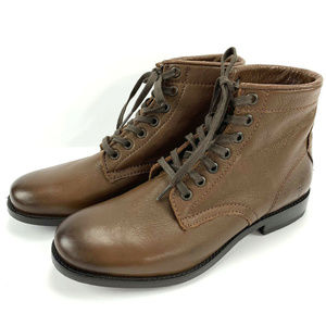 Frye Tyler Lace Up Combat Boots Size 7